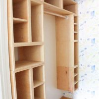 Diy Shelves In Closet