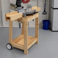 Mitre Saw Stand Diy